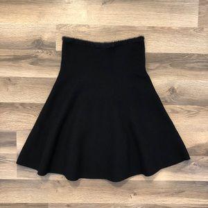 Zara Black Knit Skirt